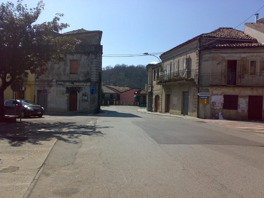 Olivadi, uno scorcio del paese