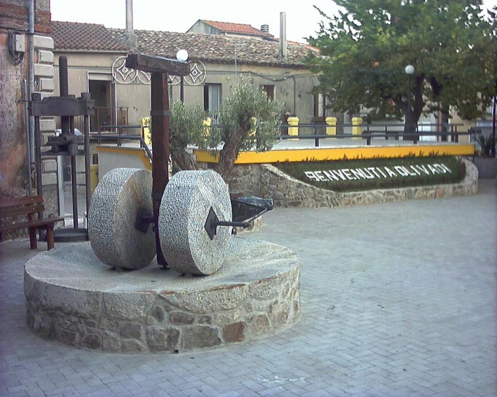 Olivadi, piazza Beato Antonio