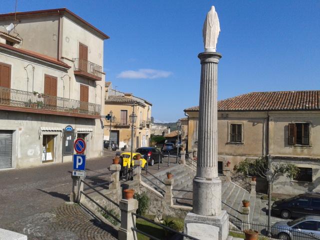 Squillace, la parte sovrastante di piazza Duomo