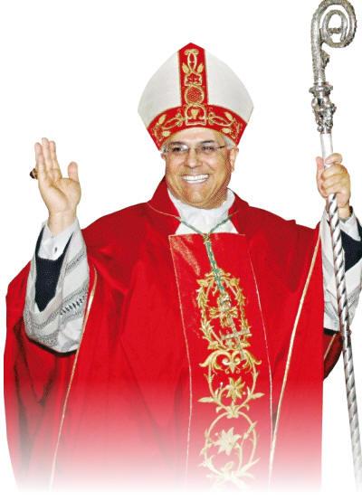 L'arcivescovo di Catanzaro - Squillace monsignor Vincenzo Bertolone