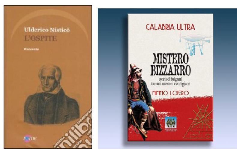 Le copertine dei due volumi