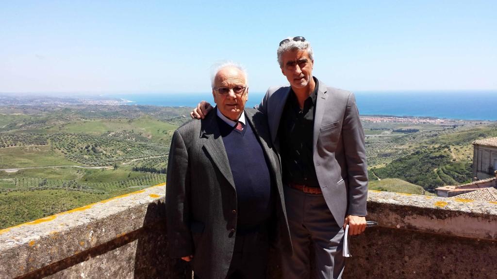 Squillace: il sindaco Guido Rhodio e l'assessore Pino Manoiero