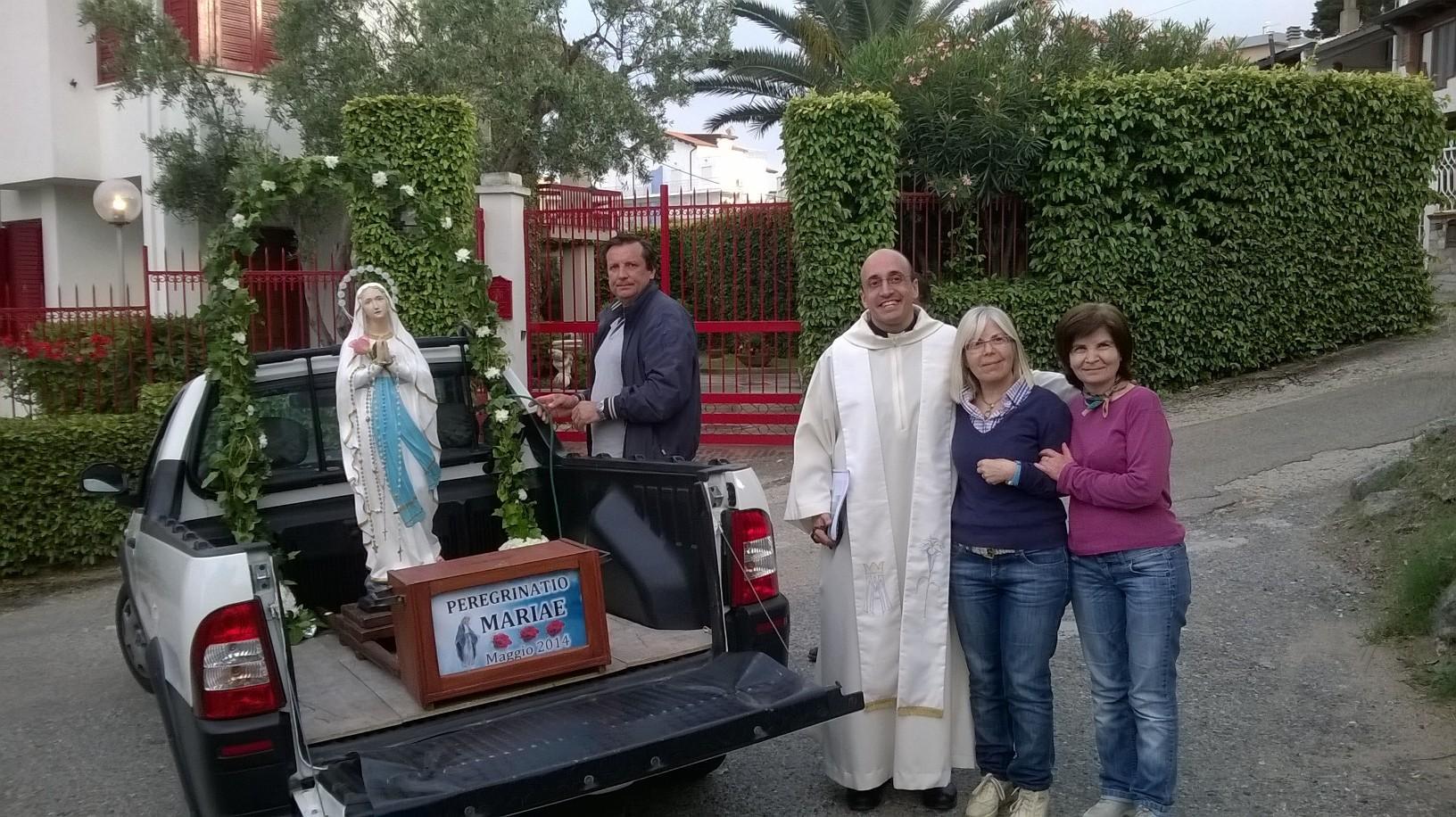 La Madonna Pellegrina per le vie di Caminia e Copanello