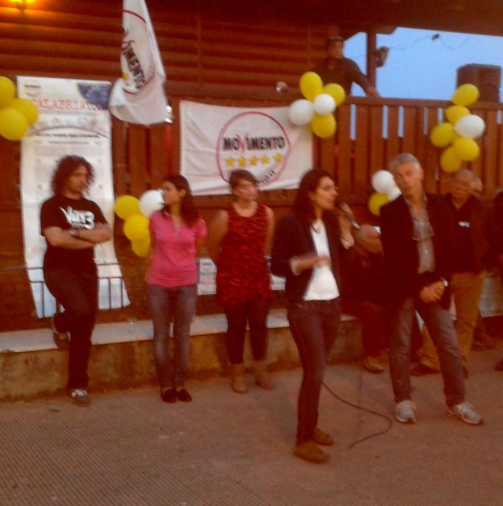 """Un momento squillacese del """"Calabria Tour 2014"""""""