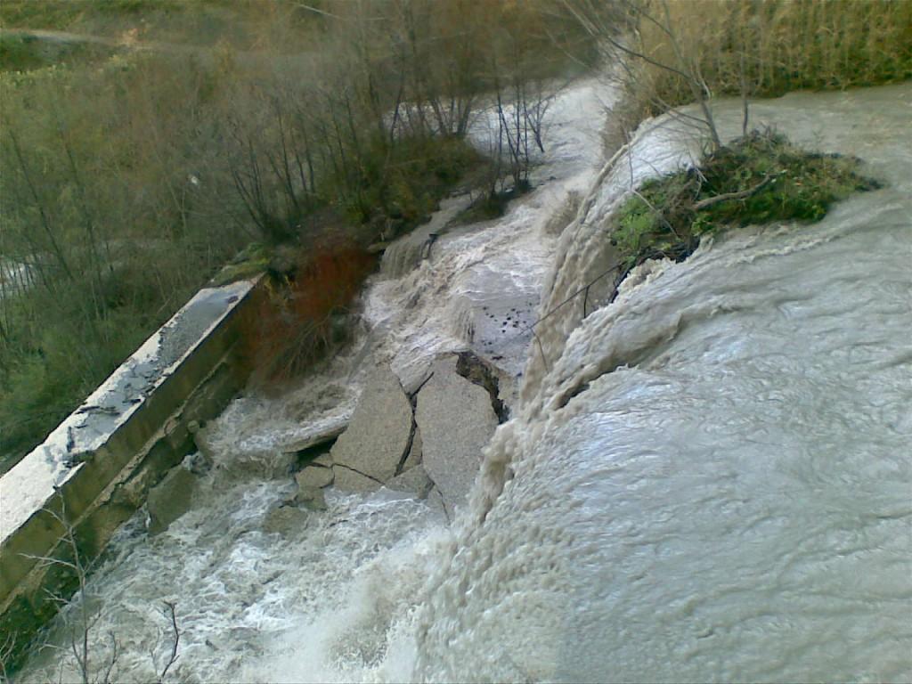 Un'immagine del fiume Ancinale