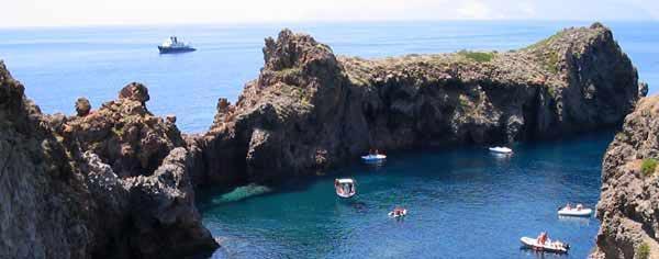 Un'immagine delle Isole Eolie