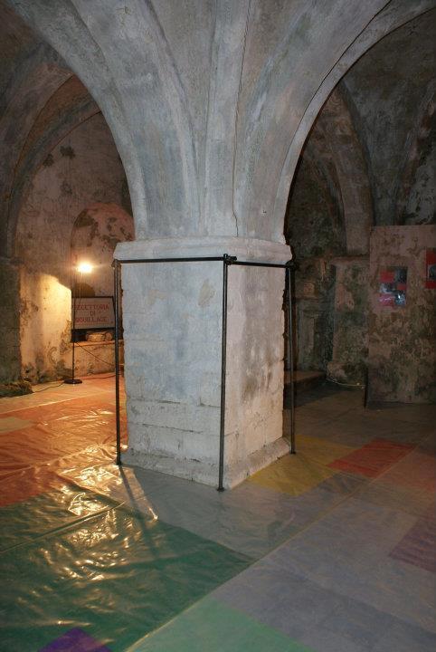 L'interno della chiesa di Santa Maria della Pietà