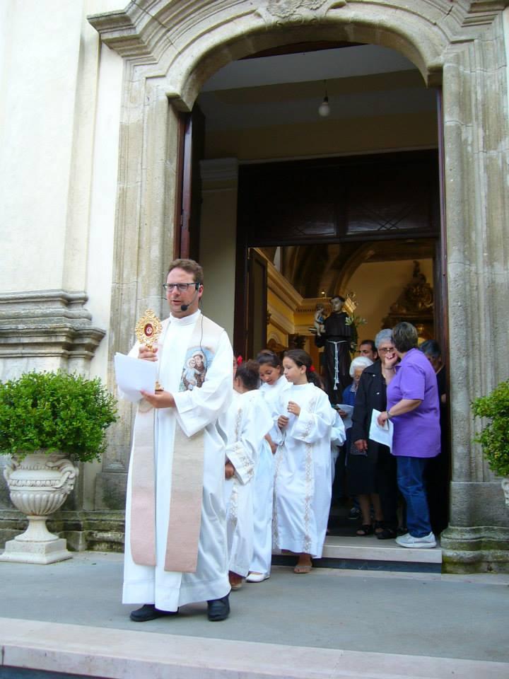 Festa di Sant'Antonio, l'inizio della processione