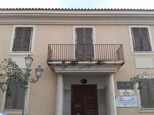 Squillace, la sede dell'Agenzia delle Entrate