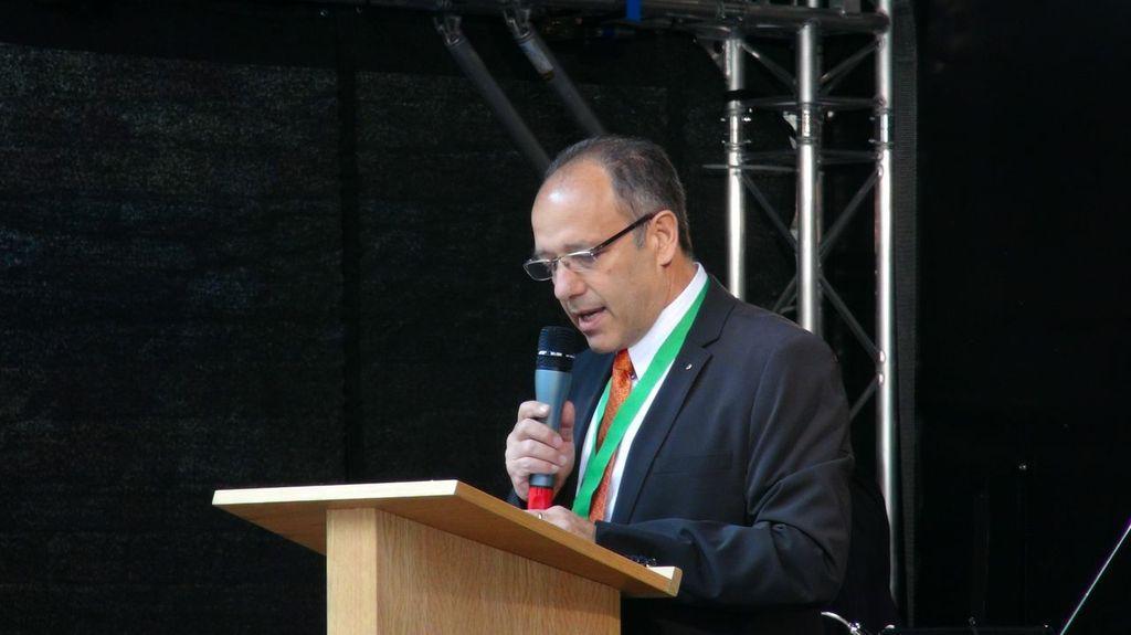 Pino Vallone, è impegnato per favorire l'integrazione degli emigrati italiani in Svizzera