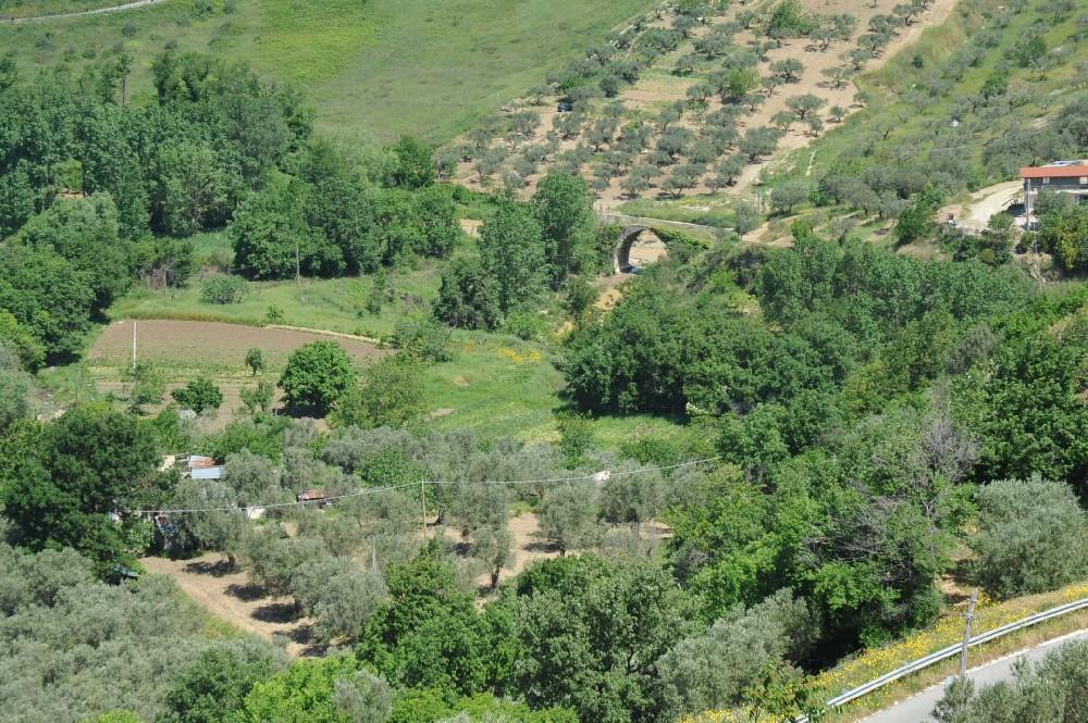 L'area su cui sorgerà il parco fluviale