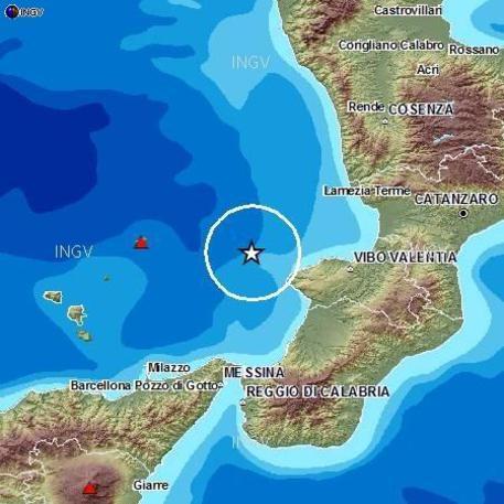 Terrfemoti: scossa in Calabria