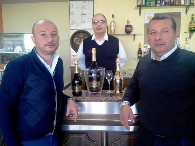 Alfonso e Leo Gerace, titolari della fortunatissima ricevitoria