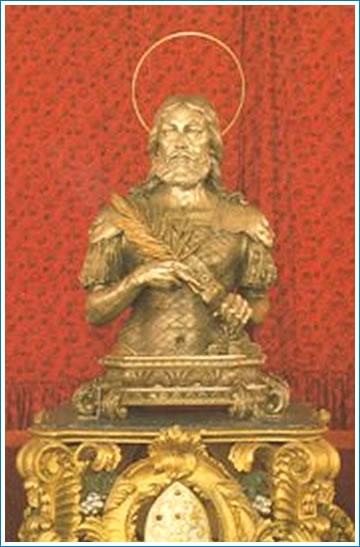Un'immagine di Sant'Agazio