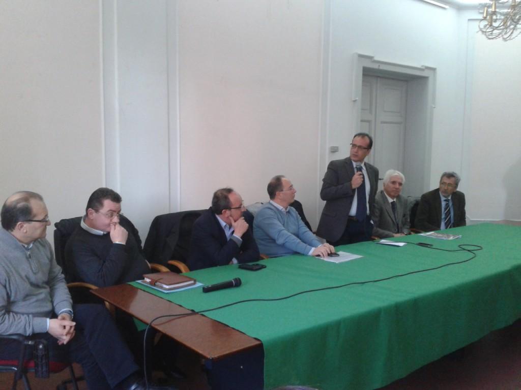 Da sx: Marra, Matozzo, Aspro, Pitaro, Tino, Marzi e Luongo
