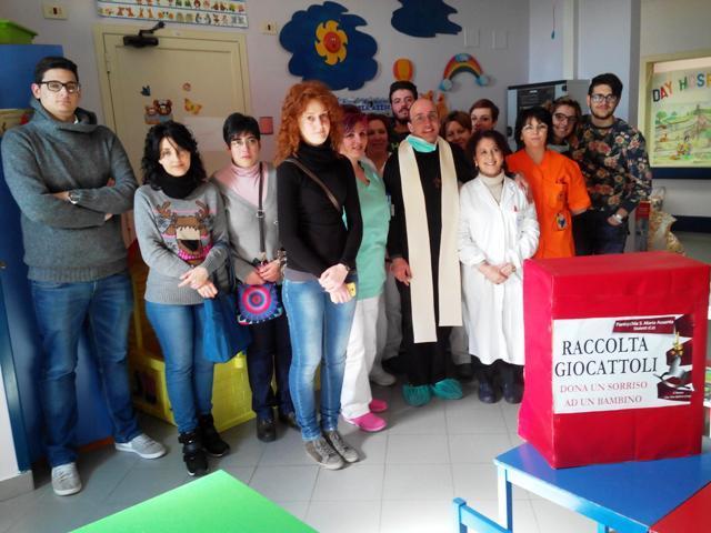 Preghiera e gioia per i bambini malati