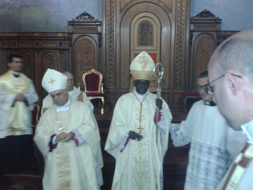 Monsignor Bertolone e Sua Eminenza Sarah