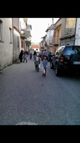 La processione dei bambini