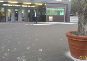 Pioggia di cenere vulcanica a Reggio Calabria