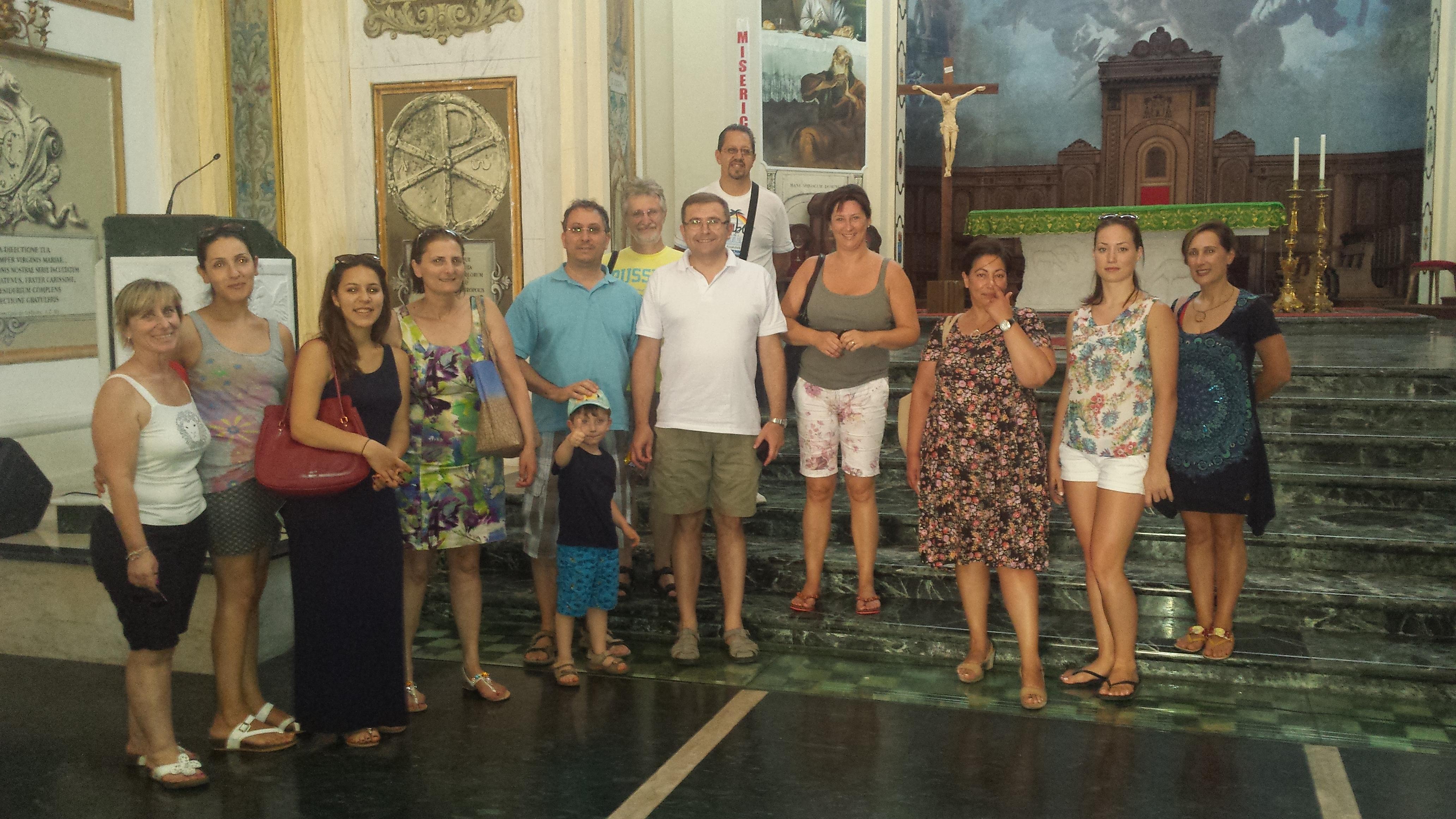 La delegazione slovena visita la Basilica di Squillace
